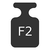 wzorce masy klasy F2