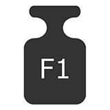 wzorce masy klasy F1