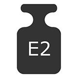 wzorce masy klasy E2
