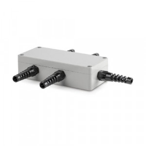 Sumator / puszka sumująca z aluminium dla max  4 szt. tensometrów
