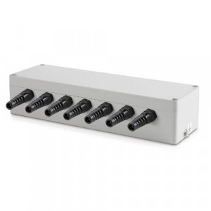 Sumator / puszka sumująca z aluminium dla max  6 szt. tensometrów