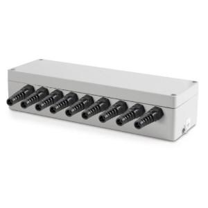 Sumator / puszka sumująca z aluminium dla max  8 szt. tensometrów