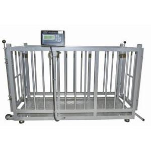 Waga inwentarzowa / inwentarska KPZ 2AE z opcją legalizacji wersja aluminiowa