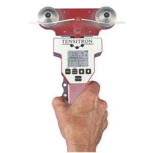 Miernik pomiaru naciągu / napięcia kabli, drutu i włókien LX-1 Tensitron