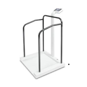 Medyczna waga z poręczami / balkonikiem do ważenia pacjentów pozycji stojącej MTA 400K-1M KERN