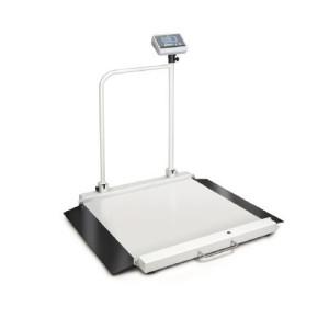 Medyczna waga z poręczą / balkonowa do ważenia wózków inwalidzkich KERN MWA