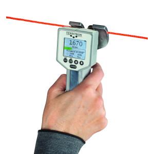 Miernik pomiaru naciągu / napięcia kabli, drutu i włókien TX-1 Tensitron