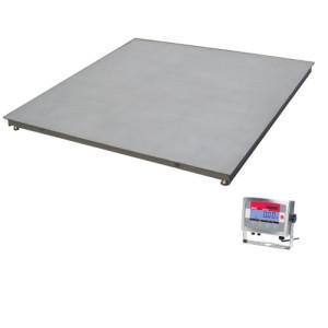 Nierdzewna waga platformowa podłogowa czteroczujnikowa VE1500R32XW-EU OHAUS