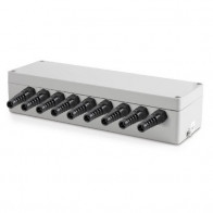 Sumator wagowy / puszka sumująca do wagi z IP65 z aluminium dla max  8 szt. tensometrów