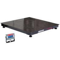 OHAUS DF 1500kg 3000kg -  waga lakierowana platformowa podłogowa czteroczujnikowa bez legalizacji