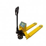 KPZ 71-8 - wózek standardowy paletowy z wagą Economy Plus