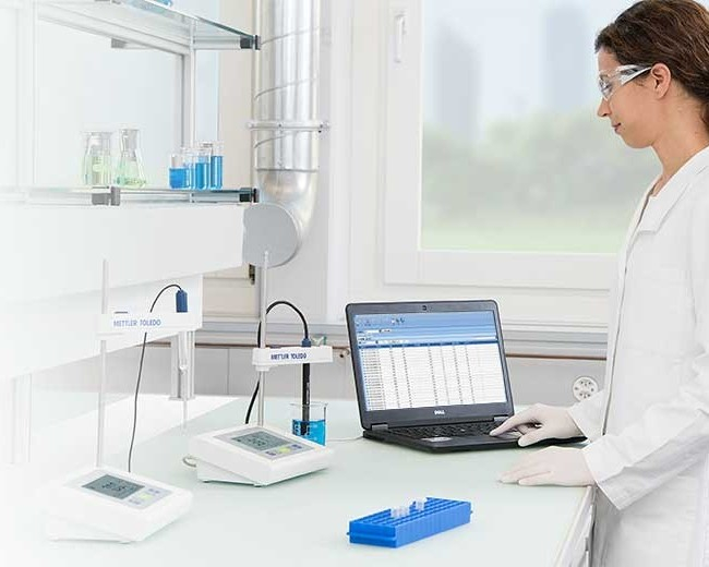 laboratorium Mettler Toledo-testy na buforach