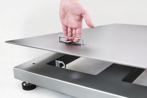 platforma wagowa czteroczujnikowa wymaga okresowego sprawdzenia i usunięcia zanieczyszczeń