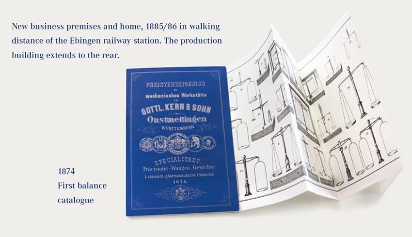 KERN & SOHN katalog 1874