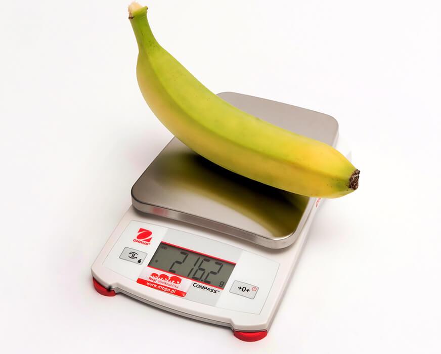 banan na wadze