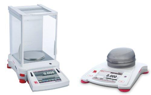 szyba i dokładna waga laboratoryjna