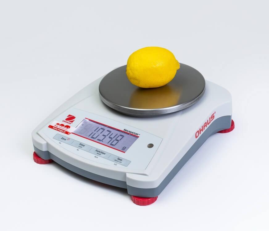 Cytryna na wadze