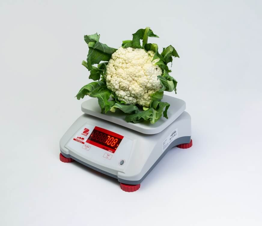 Kalafior na wadze