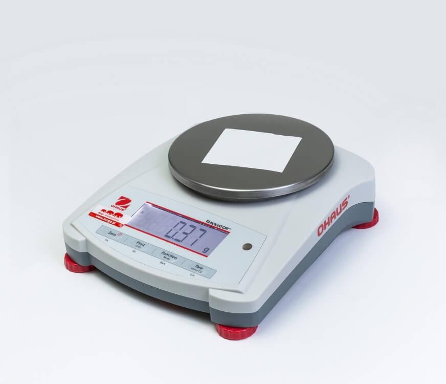 Karteczka do notatek na wadze