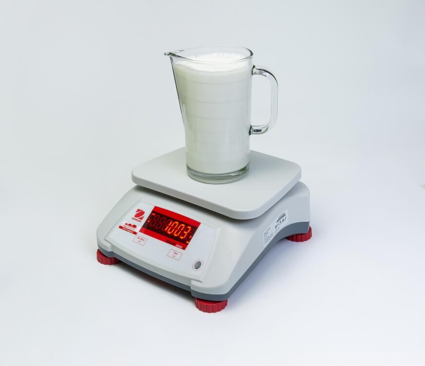 1 litr mleka na wadze