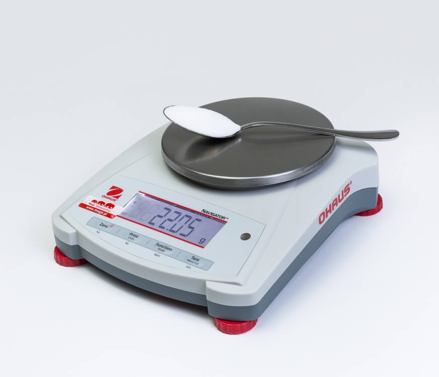 Łyżka soli na wadze