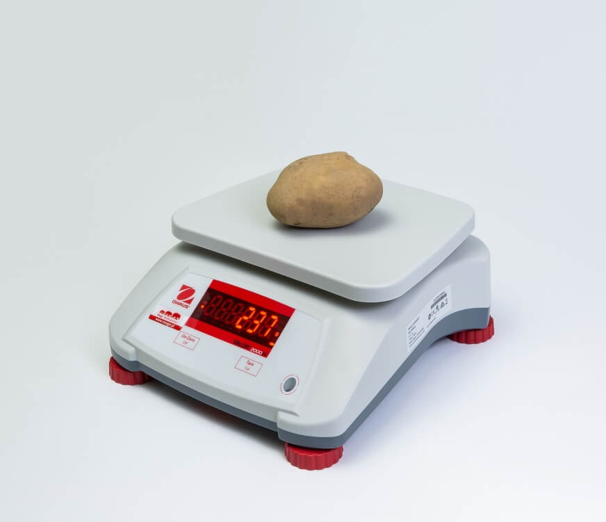 Ziemniak na wadze