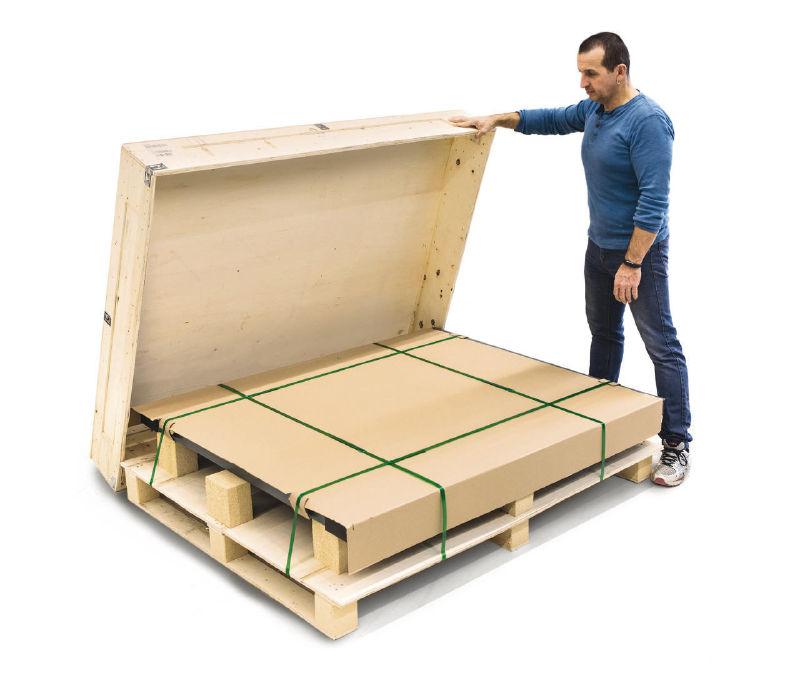 pakowanie wag KERN do transportu