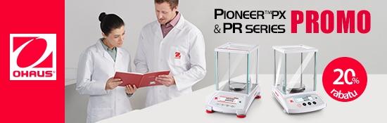 20% rabatu na Ohaus Pioneer PX & PR Series