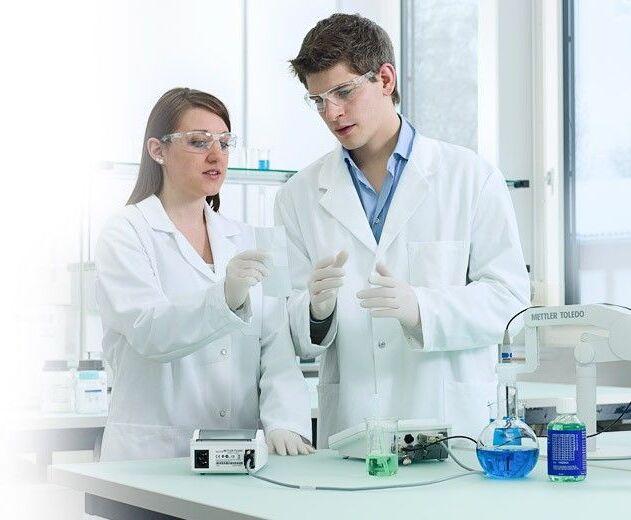 opracowywanie wyników pomiarów w laboratorium Mettler Toledo
