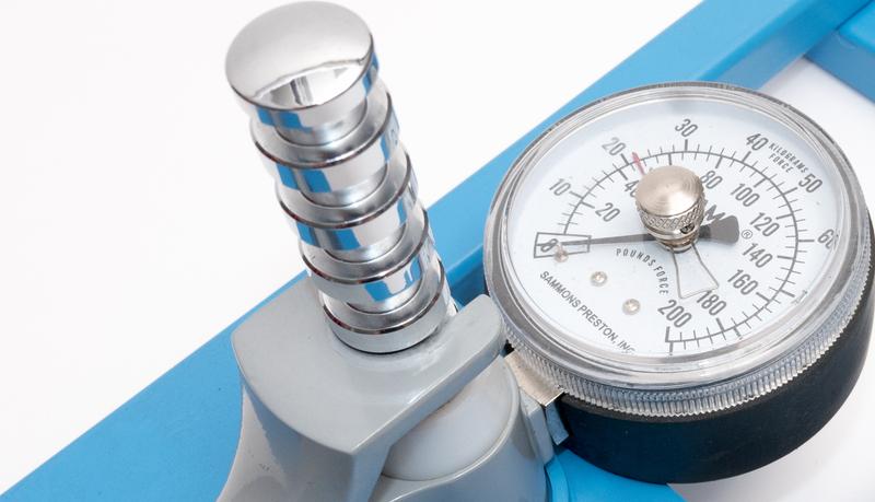 dynamometr medyczny hydrauliczny zegarowy